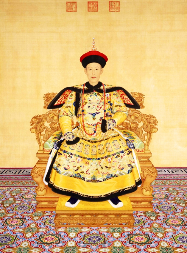 Emperor Qianlong by Giuseppe Castiglione